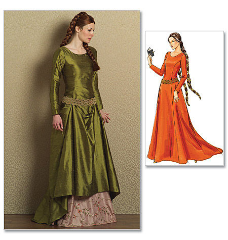 La robe en velours cotelée