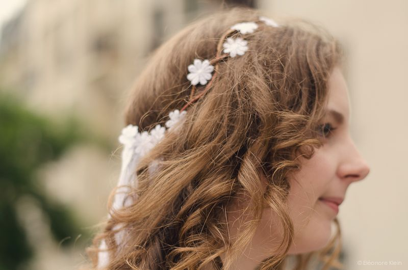 La mariée se prend la tête