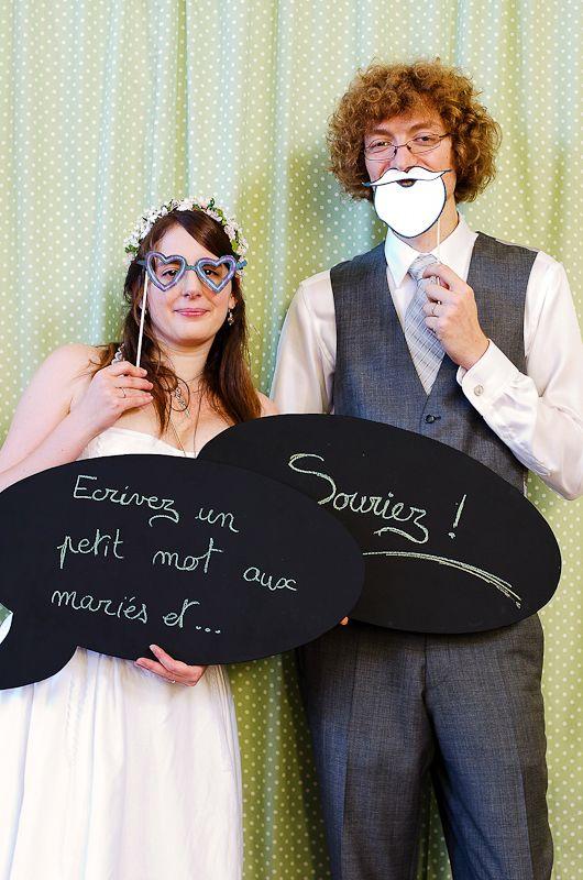 {Le mariage} Le photobooth